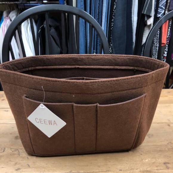 ca0358a2ce24 New Felt Handbag Organizer